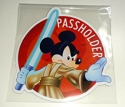 Disney World Disneyland Resorts Passholder Mickey Mouse Jedi Star Wars AP Magnet