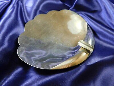 Tane Sterling Silver Hand Wrought Ashtray - Excellent Condition