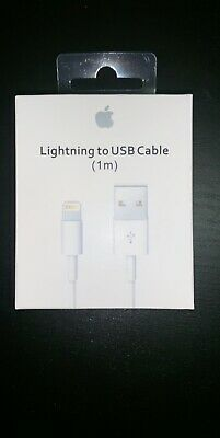 Original Charger For Apple iPhone Xs Xr X 8 7 6S 6 5S 5 USB Cable Lightning