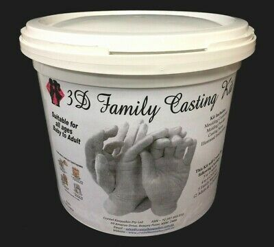 FAMILY Casting Kit. Mould and Create a casting of up to 6 Family Members.