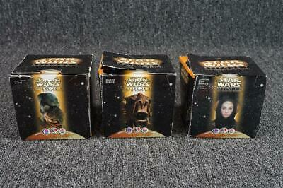 Starwars Episode 1 Taco Bell/KFC/Pizza Hut - Lot Of 3 Figurines