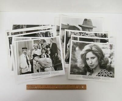 Lot (12) Vintage 1973 (8x10) Movie Media Photos THE WAY WE WERE Streisand wz8054