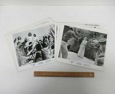 Lot (8) Vintage 1973 (8x10) Movie Media Photos JESUS CHRIST SUPERSTAR wz8055
