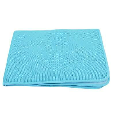 Pet Cooling Mat Non-Toxic Cool Pad Summer Heat Relief Dog Cat Puppy Cushion JA