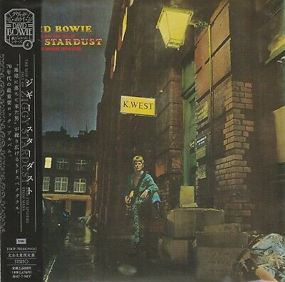 David Bowie - Ziggy Stardust. Japan.obi.mini-Lp Sleeve.remaster