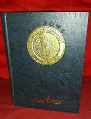 Monmouth University College New Jersey Yearbook 1995 Building A Legend  ✞