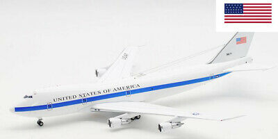 Inflight UNITED STATES OF AMERICA BOEING E-4A 747-200B 73-1677  1/200 diecast