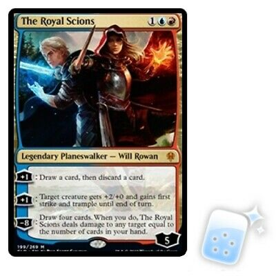 THE ROYAL SCIONS Throne Of Eldraine ELD Planeswalker Magic MTG MINT CARD