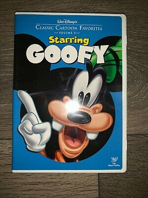Walt Disneys Classic Cartoon Favorites Starring Goofy (DVD, 2005)