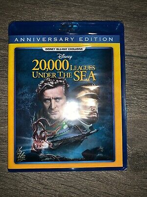 20,000 Leagues Under The Sea (Disney Movie Club) Blu-ray SHIPPING NOW