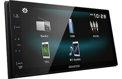 New Kenwood DMX125BT 2 DIN Media Player USB Mirroring For Android Bluetooth