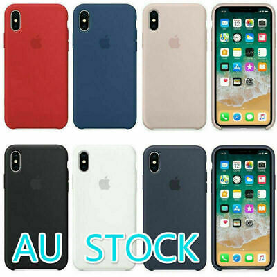 Genuine Original Ultra Thin Silicone Case Cover For iPhone 11Pro XS Max XR 8 7 6