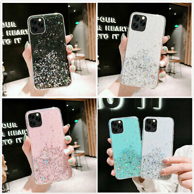 For iPhone 11 Pro Max XS Max XR 7 8 Plus Shockproof Case Cute Girly Bling Cover