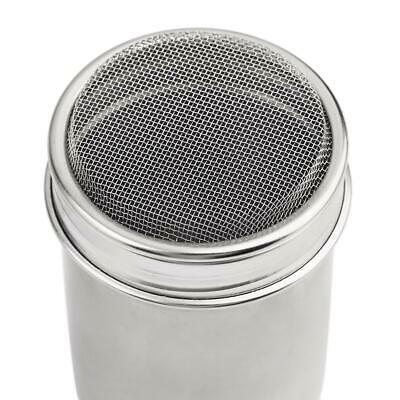 Stainless Steel Chocolate Cocoa Flour Shaker Icing Sugar Powder Coffee Duster MT