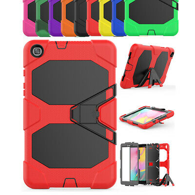 For Samsung Galaxy Tab A 8.0 2019 SM-T290 Military Shockproof Stand Case Cover