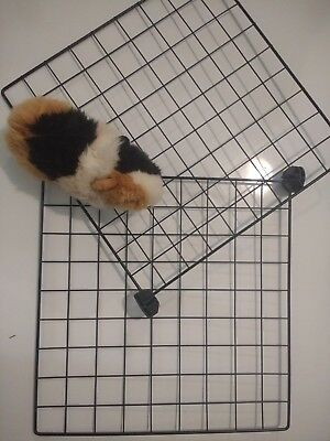 C&C C C cage 42 panels grids and 84 connectors Guinea Pig Rabbit Run Playpen