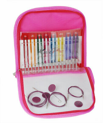 Knit Pro Trendz Acrylic Interchangeable deluxe circular knitting needle set