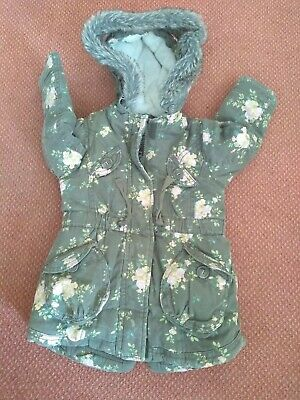 Beautiful Mothercare floral jacket/coat (like Next) 18-24months