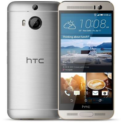 """HTC One M9+ Plus 5.2"""" 32GB Android 4G LTE Unlocked Smartphone Sliver/Gray/Golden"""