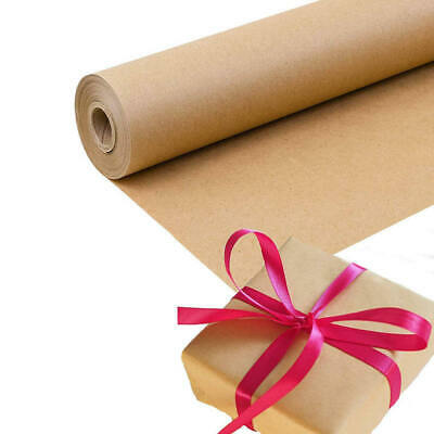 Brown Kraft Paper Roll Shipping Wrapping Craft Cushioning Void Fill 12