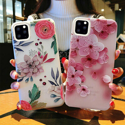 For iPhone 11 pro Max Xs Max Xr 7 8 Plus Shockproof Cute Phone Case Girl Cover