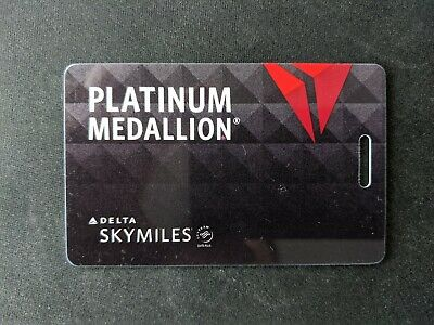Delta Platinum Medallion Luggage Tag