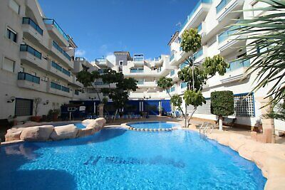 Sea view 2bed, furnished penthouse 600m beach, Aquamarina, Torrevieja, Alicante.