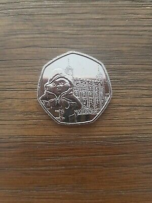 Paddington Bear Tower Of London 50p Coin 2019. From sealed bag. Uncirculated.