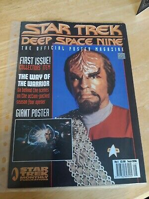 Star Trek Deep Space Nine Official Poster Magazine #1 First Issue