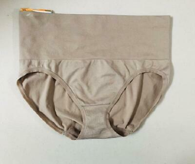 JKY by Jockey Women's Slimming Muffin Tamer Briefs, Light Brown – Size Large