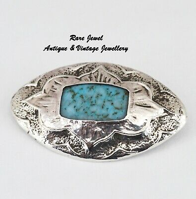 Antique Sterling Silver Brooch Art Nouveau Arts & Crafts Lovely & Unusual