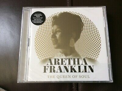 Aretha Franklin  The Queen Of Soul Double Cd Set New And Sealed D1