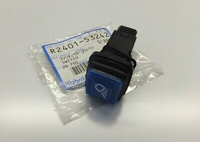 "Kubota ""R420 and R520"" Work Light Switch - R240153242 (Discontinued)"