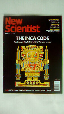 New Scientist Magazine Number 3197 September 29th 2018 The Inca Code