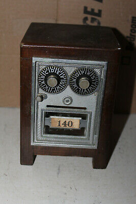 Vintage Post Office Door Bank Combination Lock Rare