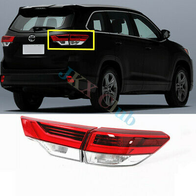 RH (Outer+Inner) Tail Light Brake Lamp Assy h For Toyota Highlander 201718 2019