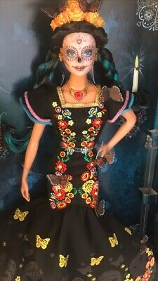 Barbie Dia De Los Muertos Doll 2019 Day of The Dead Barbie Ready In Hand