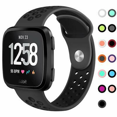 Replacement Band Compatible Fitbit Versa Smart Fitness Watch, Large Small