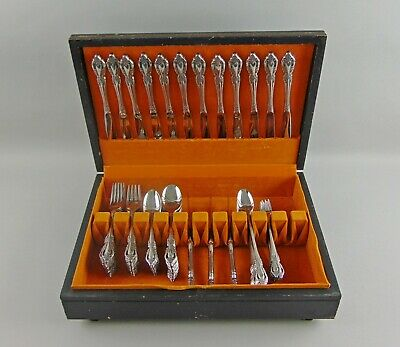 102pc Set Oneida Stainless Flatware RAPHAEL Service for 12