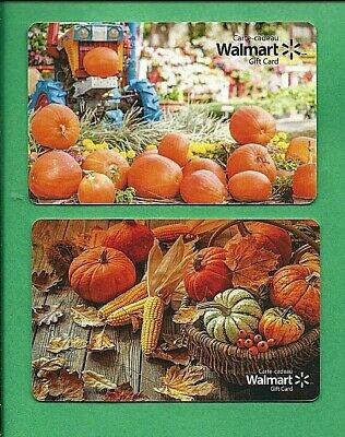Walmart Canada Autumn  Gift Cards No Value