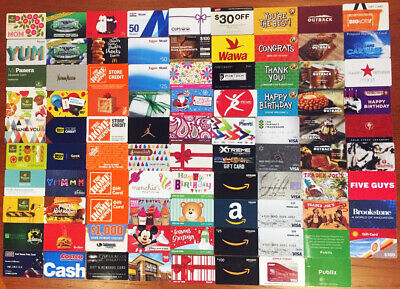 110 Gift & Advertising Cards For Collecting (No Cash Value) 89 Different
