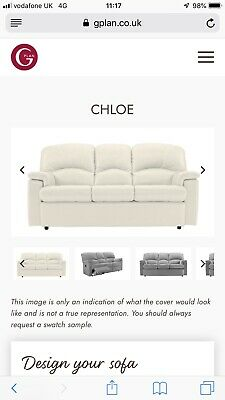 Wondrous G Plan Chloe Sofa And Two Armchairs 110 00 Picclick Uk Machost Co Dining Chair Design Ideas Machostcouk