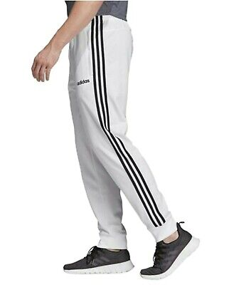 New Adidas Men's Essentials Tricot Joggers /  Pants~ Size  Large ~ #Eb3988 White