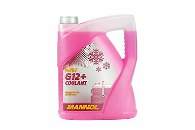 5L  MANNOL G12+ Red/Pink Antifreeze Coolant Ready To Use (Mixed) Longlife J1034