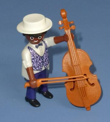 Playmobil  Ethnic Musician & Double Bass Series 16 Male Figure NEW RELEASE 70159
