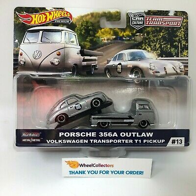 Porsche 356A Outlaw * 2019 Hot Wheels Team Transport Car Culture E Case