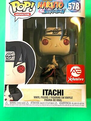 FUNKO POP! ANIMATION: Naruto - Itachi (AEC Exclusive) W/ Protector Pop In Hand