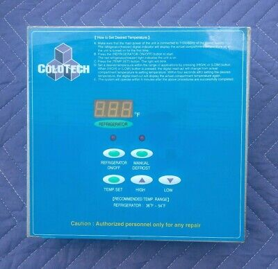 COLDTECH Refrigerator Electronic Control Panel