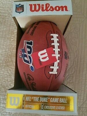 Wilson Official 100th Anniversary NFL Authentic Game Duke Football