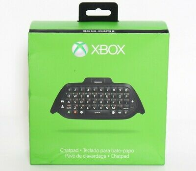 Official Microsoft Xbox One Chatpad / Headset Adapter Authentic OEM + Headset